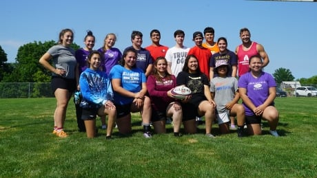 Iroquois Roots Rugby Final Practice