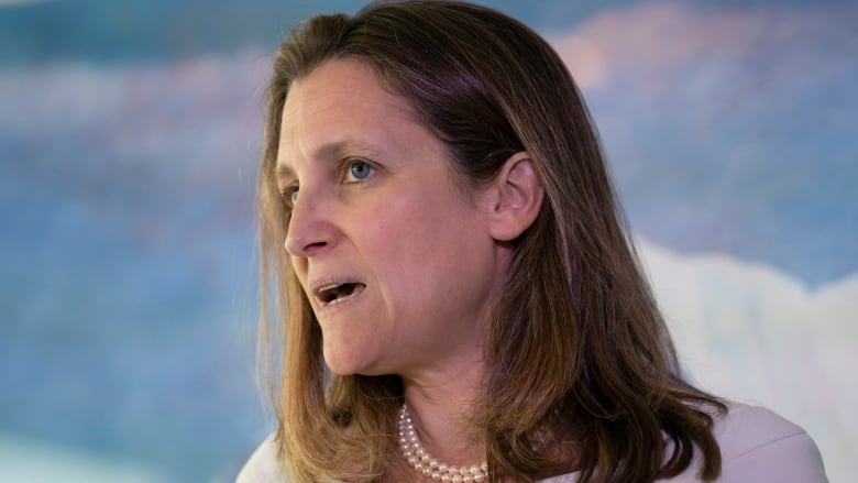 Chrystia Freeland says she has '100%' confidence in Justin Trudeau