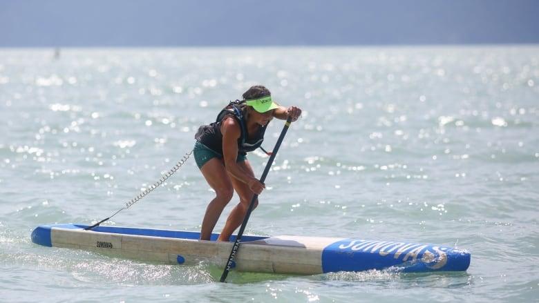 Ottawa standup paddling athlete aims for gold at Pan Am Games