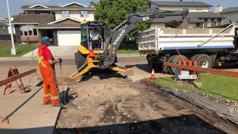 Utility hook up Edmonton