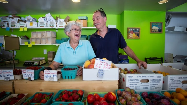 Just peachy: Bob's Fruit Stand is still pumping out fresh