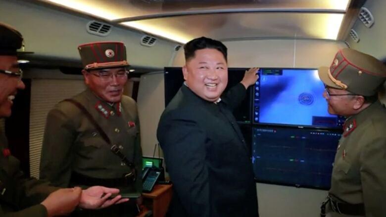 North Korea says Kim supervised latest rocket launcher test | CBC News