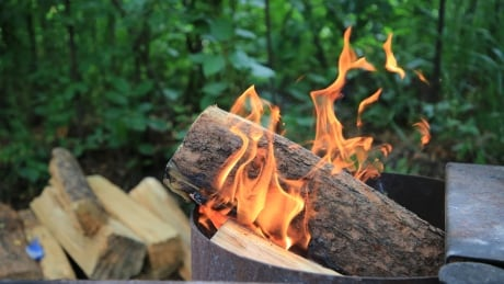 Outdoor camping fire pit