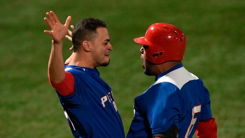 buy online 37447 8e7f1 Puerto Rico snaps Canada's golden Pan Am baseball run | CBC ...