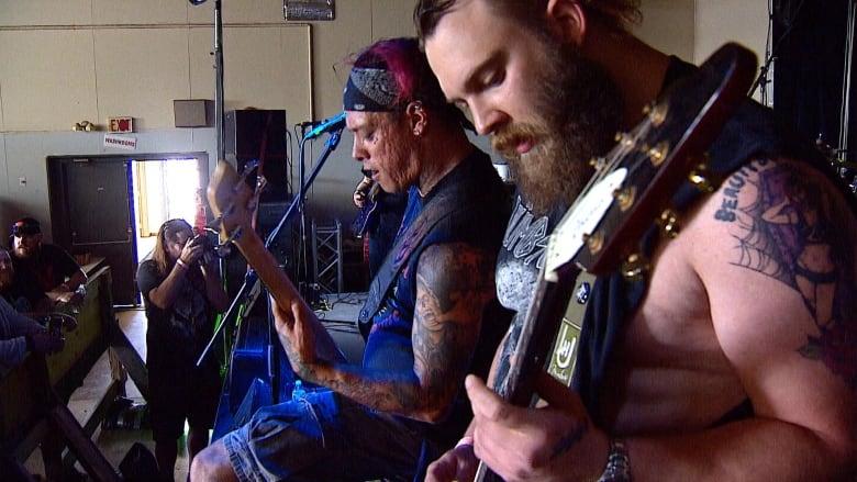 Headbangers flock to Drumheller's hoodoos for 8th annual metal fest