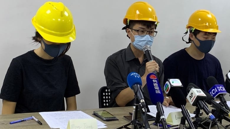 Protesters in Hong Kong decry government's 'empty rhetoric'