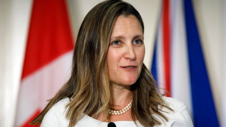 Freeland says Canada's relationship with China 'challenging' despite breakthrough meeting