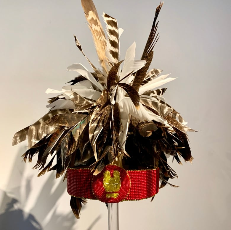 Exhibition of First Nations headdresses explores issues of