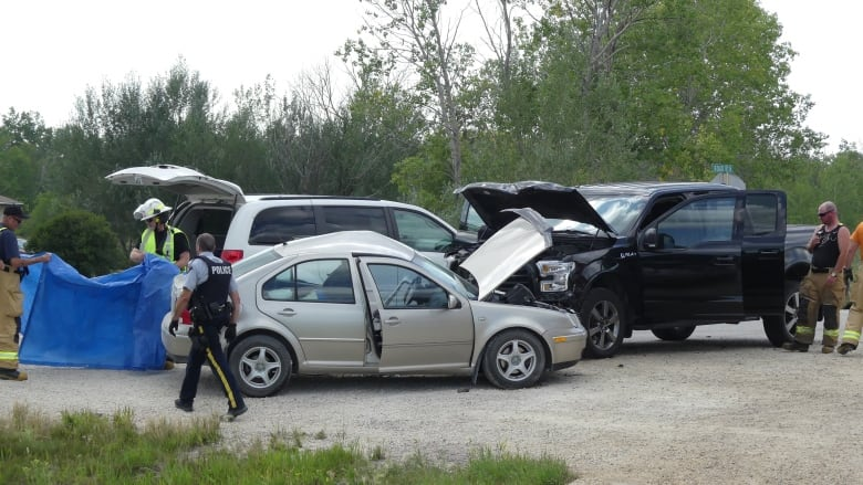 78-year-old man killed, 6 others taken to hospital after highway