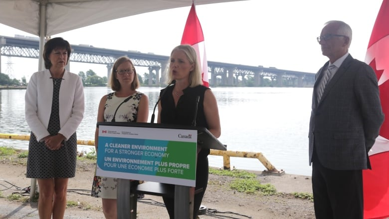 Climate change minister announces $1M in funding for 10 Great Lakes projects