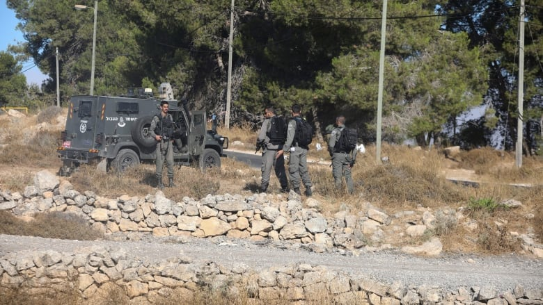 Israeli military searches West Bank after killing of soldier