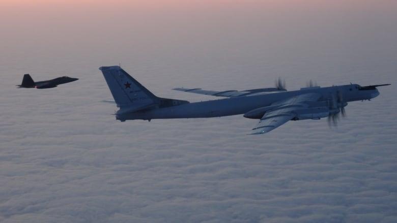 Norad intercepts 2 Russian bombers over Beaufort Sea