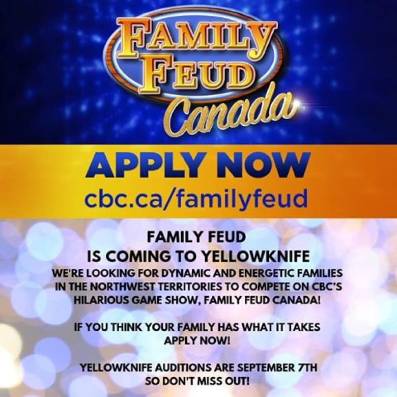 Family Feud Canada is coming to Yellowknife | CBC News