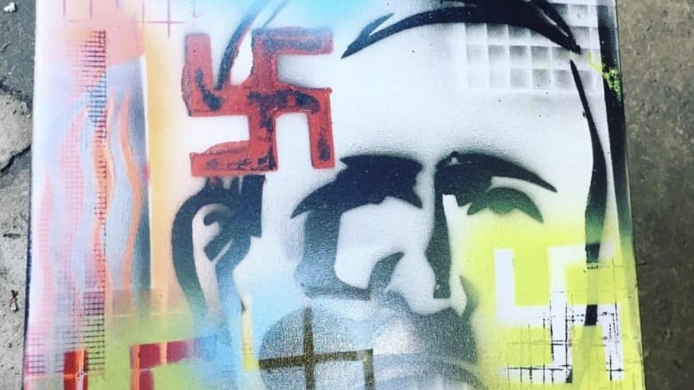 Jewish organization says Saskatoon artist profiting off Nazi