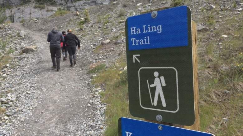 Popular Ha Ling Peak trail reopens after year-long closure | CBC News