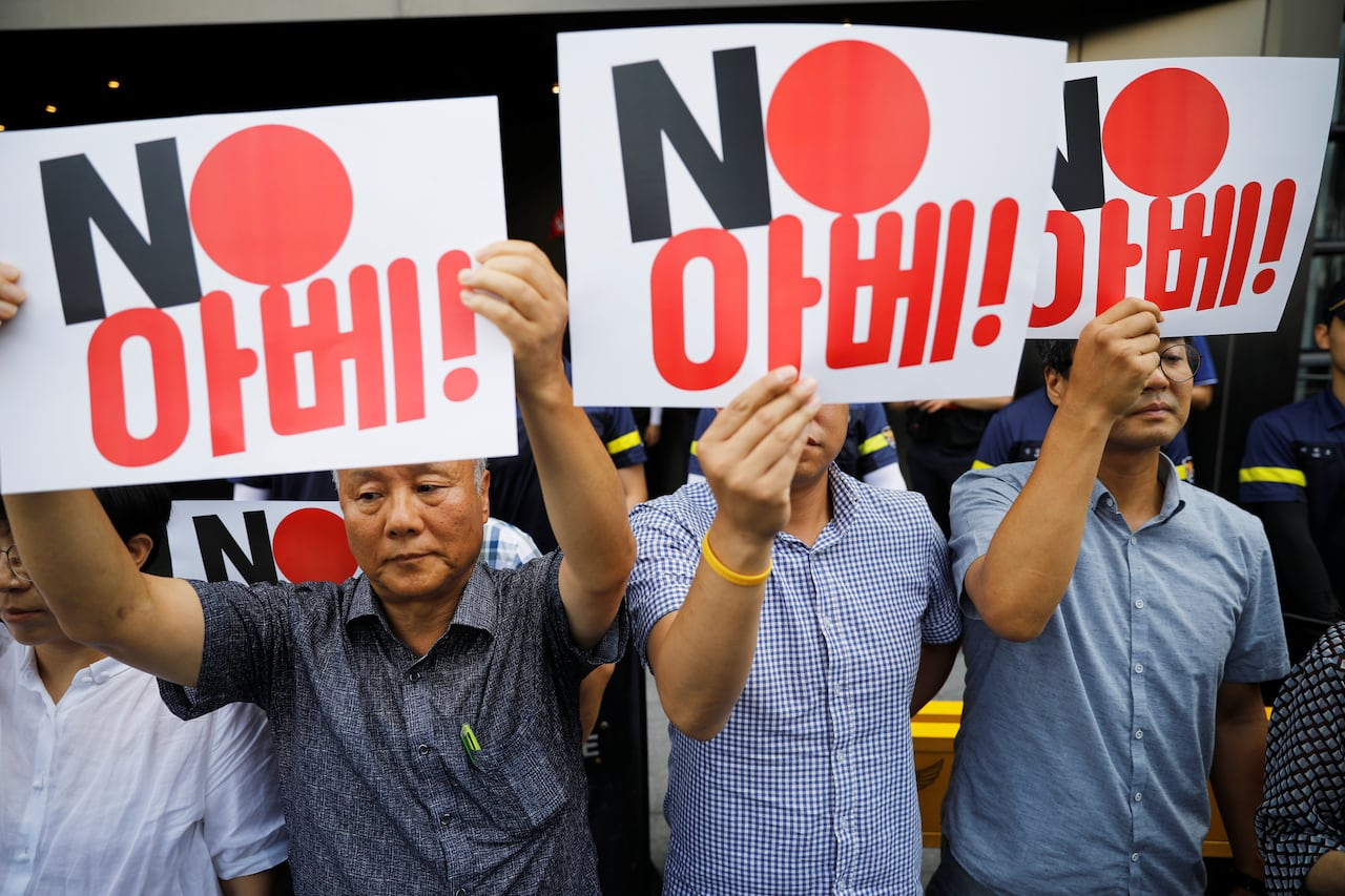 South Korea to remove Japan from preferred trade list amid