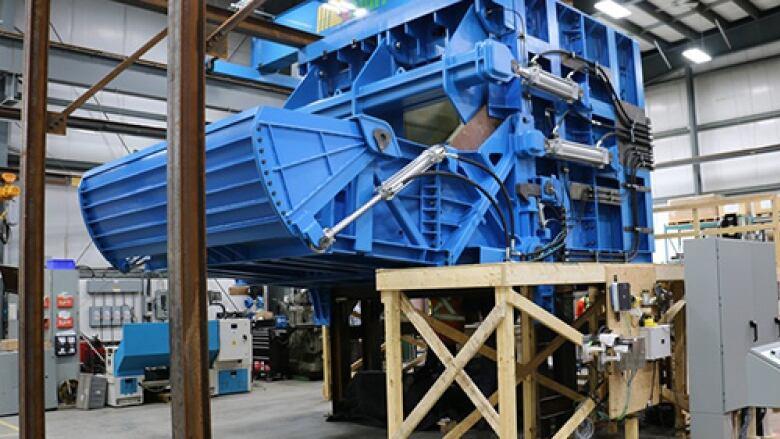Sudbury tech company says its sending world's largest ore chute to Mongolia