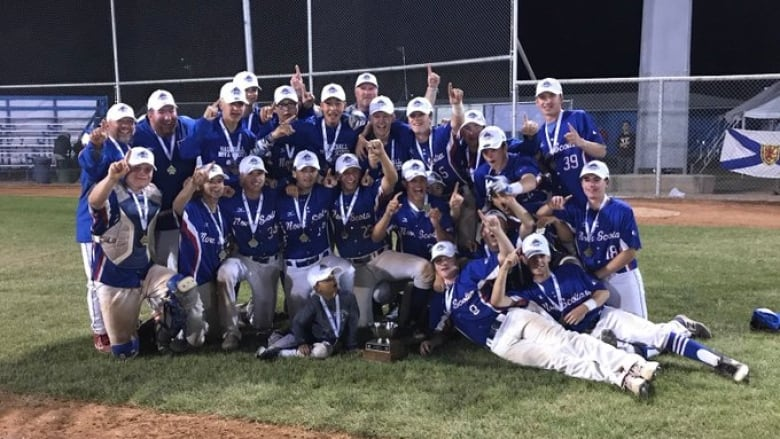 Nova Scotia wins Baseball Canada Cup for 1st time | CBC News