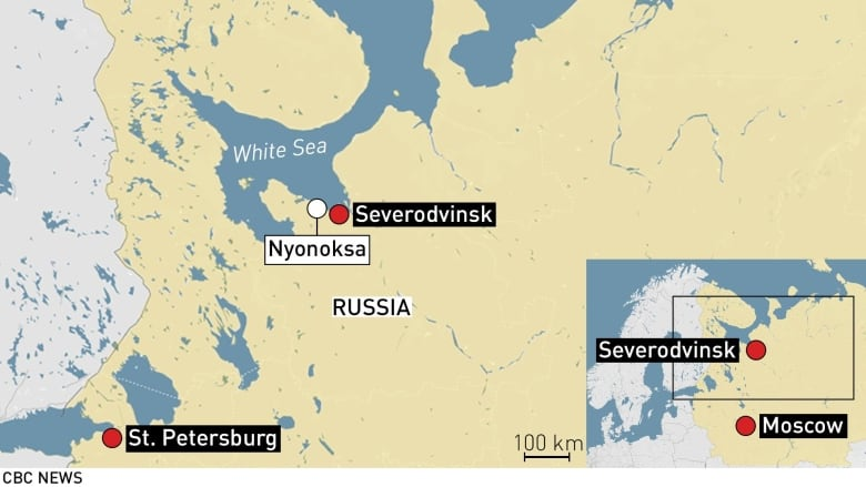 Russia clearing out people near where rocket accident sent