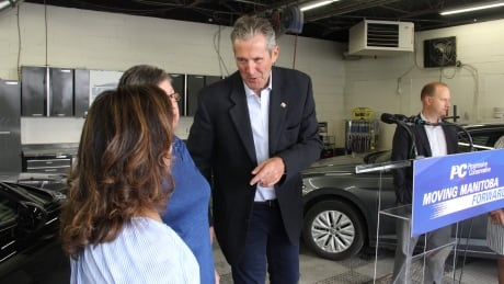 Brian Pallister vehicle registration fee cut