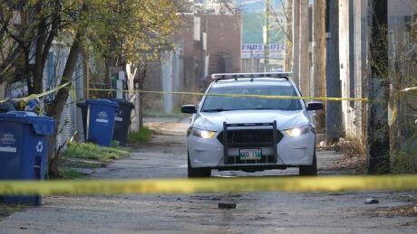 Winnipeg police stock image