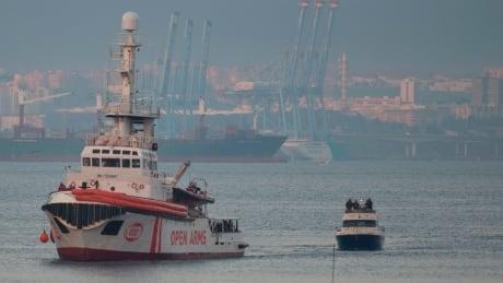 Open Arms rescue ship