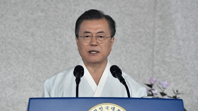 South Korea marks its liberation, president hopes for repair of Japan relations