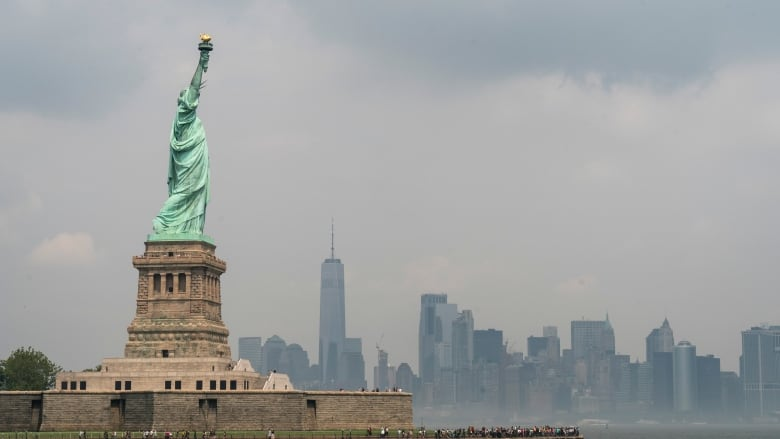 Trump Officials Comments On Statue Of Liberty Poem Distort