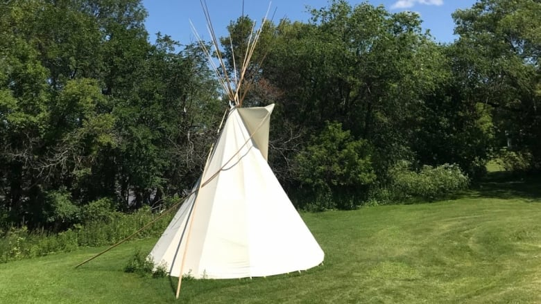 'It's a disgrace': Teepee vandalized at National Centre for Truth and Reconciliation