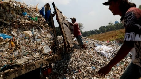 Indonesian village wants Canada's trash