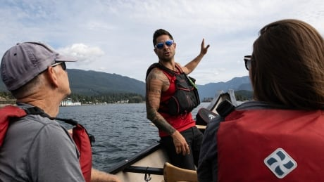 First Nations canoe tour