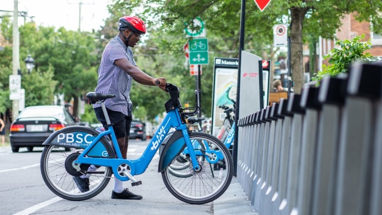 Electric Bixis join Montreal's increasingly crowded mix of transit options