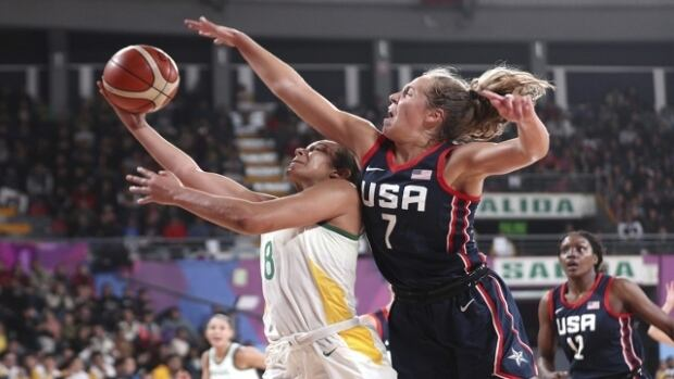 Aurora Games on CBC: Basketball - The World Team vs The Americas Team