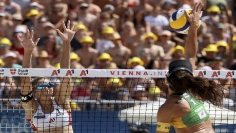 Aurora Games on CBC: Beach Volleyball - The World Team vs The Americas Team / Closing Ceremony