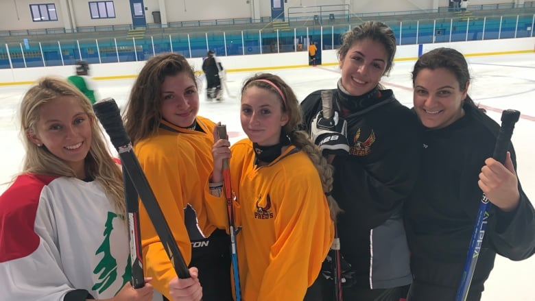 Canadians help Lebanon chase Olympic hockey dream