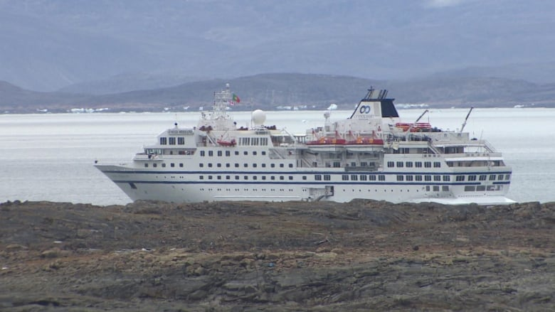 Cruise ship gets arrested in Iqaluit and it's a rare occurrence, says official