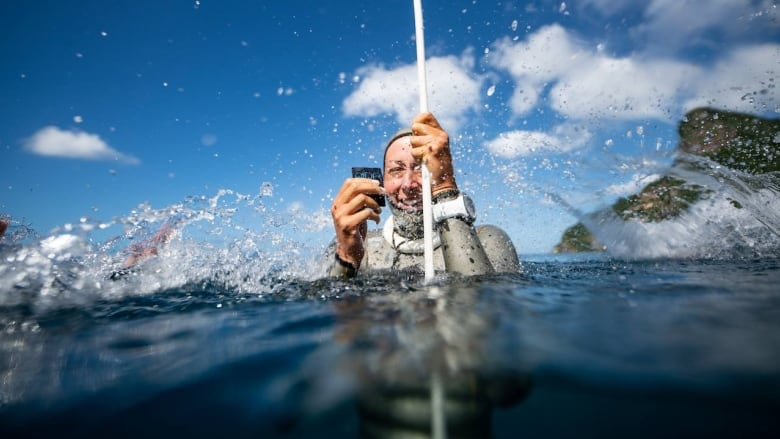 'I'm supposed to be here': Edmontonian breaks national freediving records