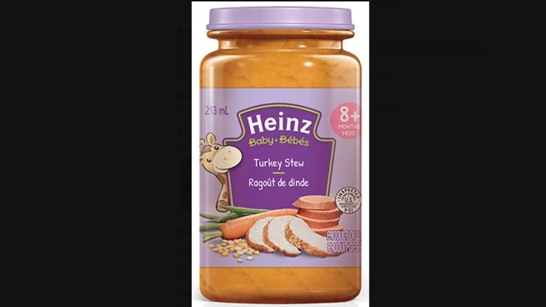 Kraft Heinz Turkey Stew baby food recalled due to possibility of insects
