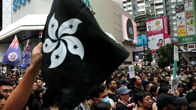 'We have no other choice': Tens of thousands in Hong Kong join anti-government rally