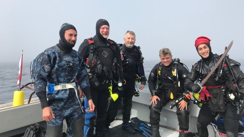 Divers explore marine sanctuary two decades in the making