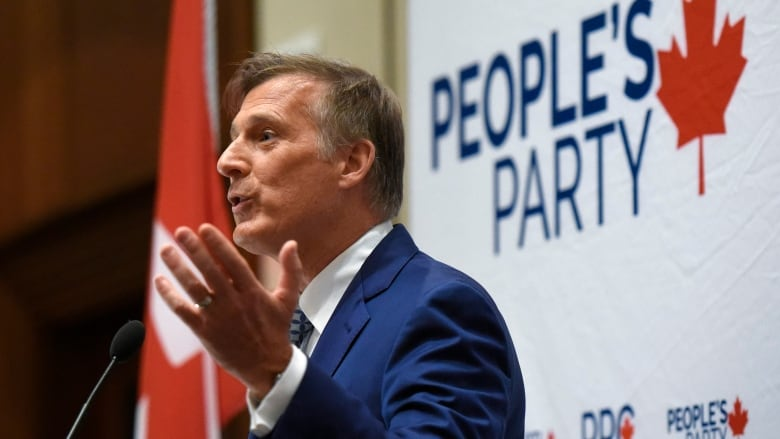 Bernier files complaint to elections watchdog over 'professional smear campaign' against his party