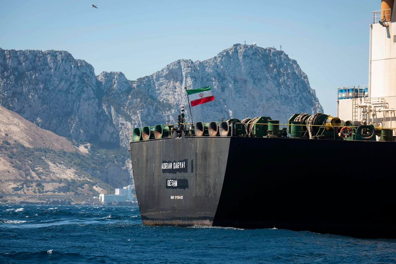 Iranian Tanker At Centre Of Standoff With U S U K Leaves Gibraltar Heads To Greece Cbc News