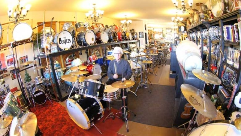 Calgary music store owner closes shop and puts vintage $10K