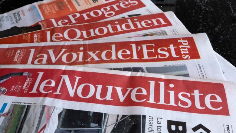 Quebec newspaper chain files for creditor protection