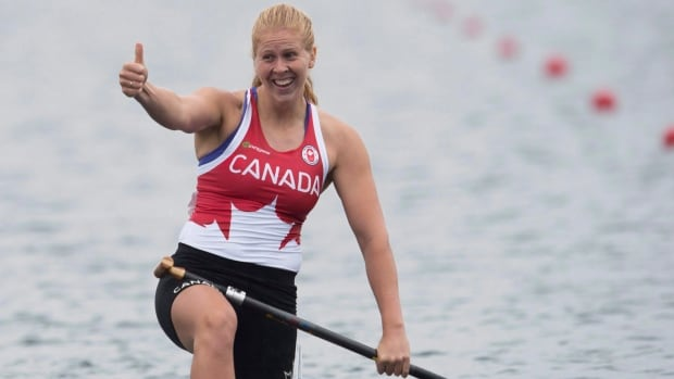 Watch Canada's Laurence Vincent Lapointe discuss her positive doping test
