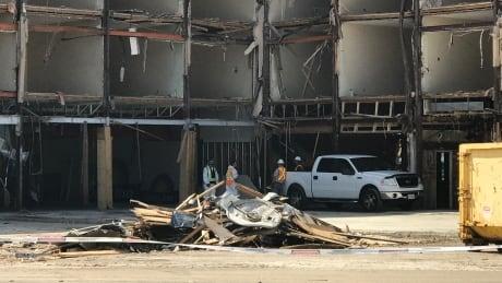 Demolition in PG