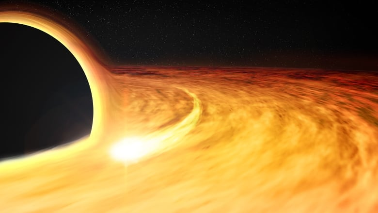 Scientists may have detected a black hole devouring a neutron star