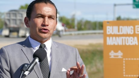 Wab Kinew infrastructure election promise