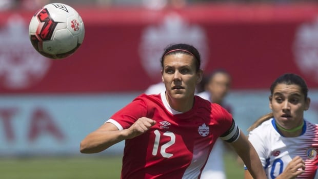 Allure of another women's soccer medal has Sinclair looking forward to 2020 Olympics | CBC Sports