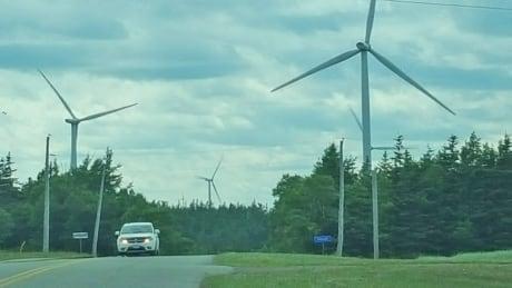 Hermanville wind farm pei
